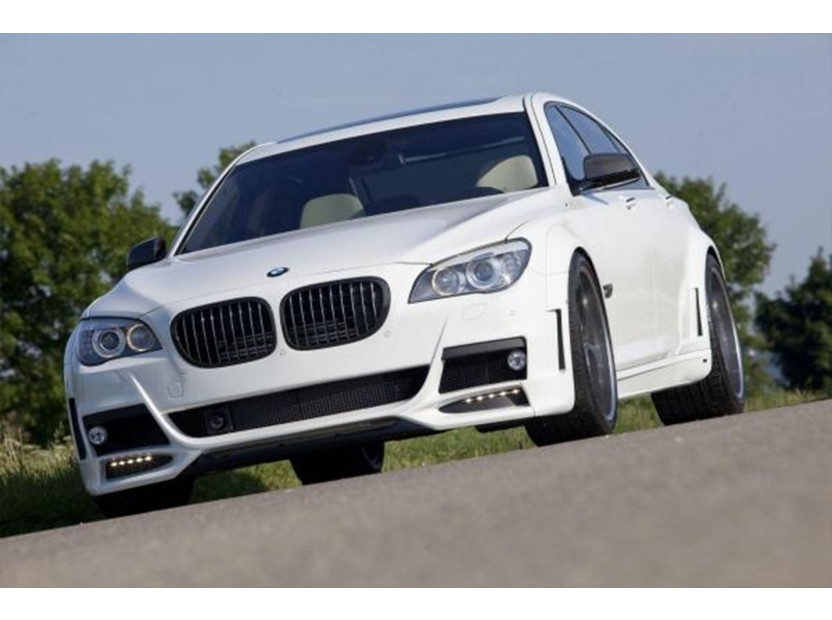 Бъбреци черен мат за BMW серия 7 F01 къса база, F02 дълга база 2008-2015 4