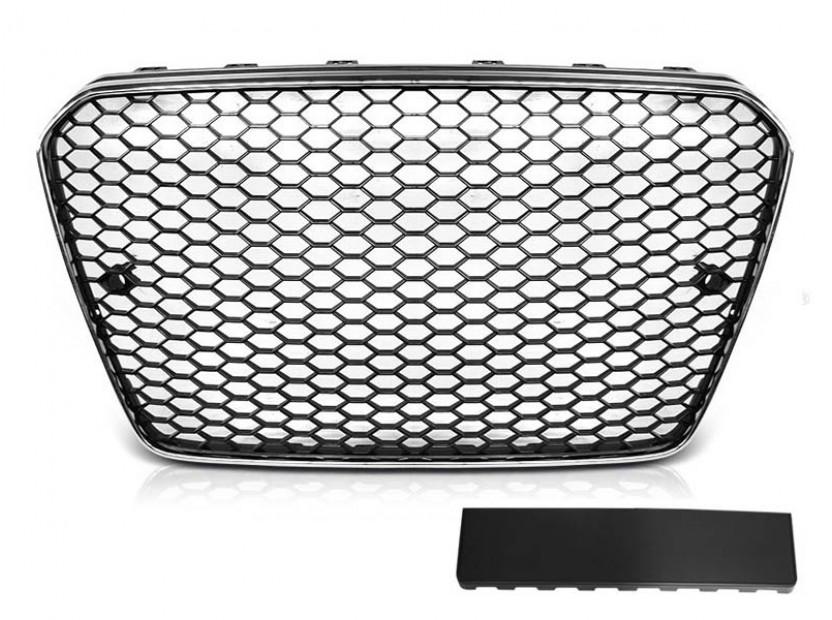 Хром/черна решетка тип RS за Audi A5 2011-2016
