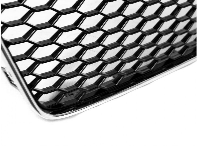 Хром/черна решетка тип RS за Audi A5 2011-2016 4