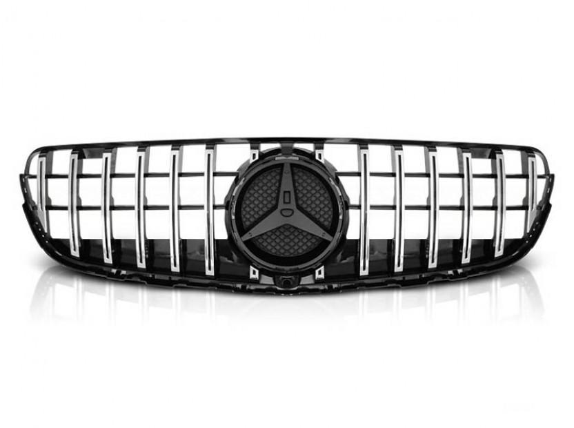 Хром/черна решетка тип GT-R за Mercedes GLC W253 след 2015 година