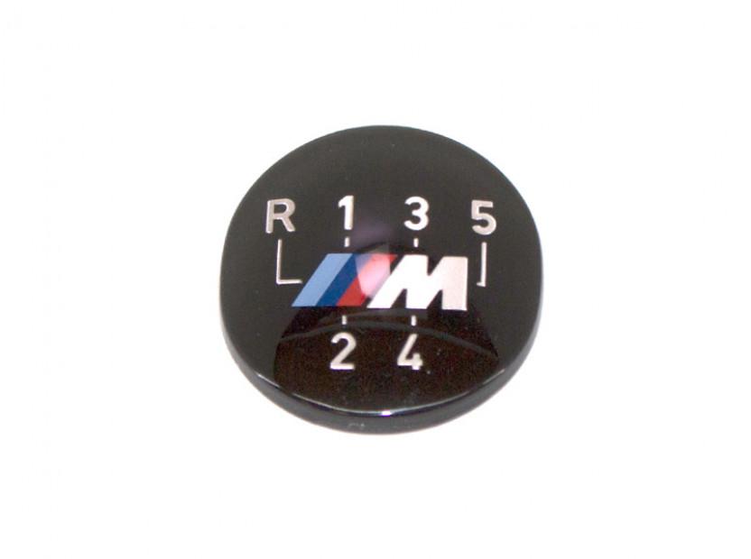 Емблема M за скоростен лост за BMW E24 / E28 / E30 / E32 / E34 / E36 / E38 / Z1 /ОРИГИНАЛА/