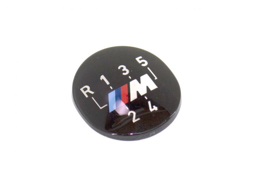 Емблема M за скоростен лост за BMW E24 / E28 / E30 / E32 / E34 / E36 / E38 / Z1 /ОРИГИНАЛА/ 2