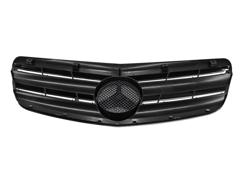 Хром/черна решетка тип CL за Mercedes S класа W221 2005-2009 2
