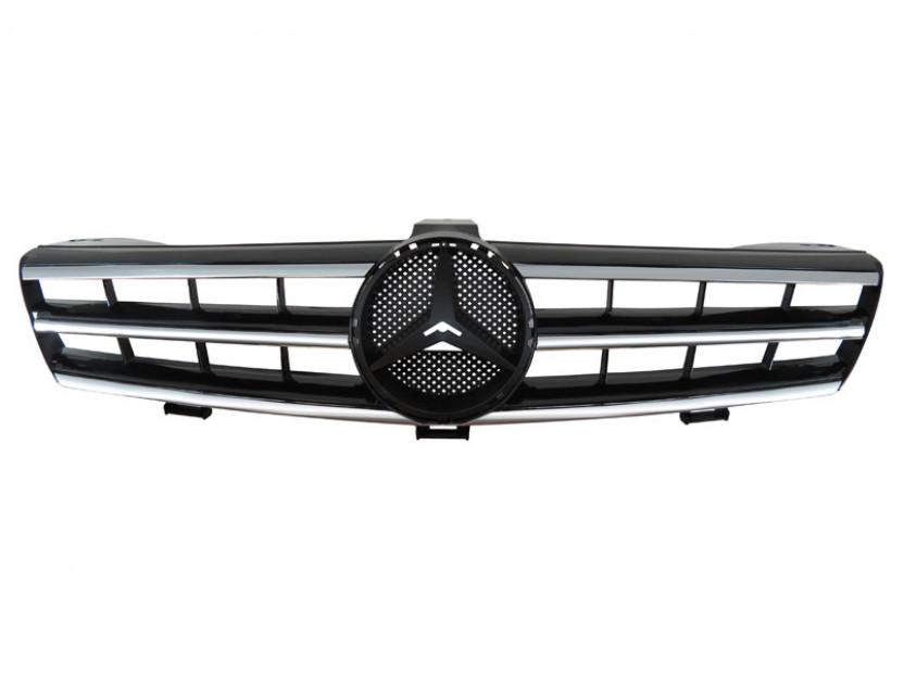 Хром/черна решетка тип AMG за Mercedes CLS класа W219 2004-2008