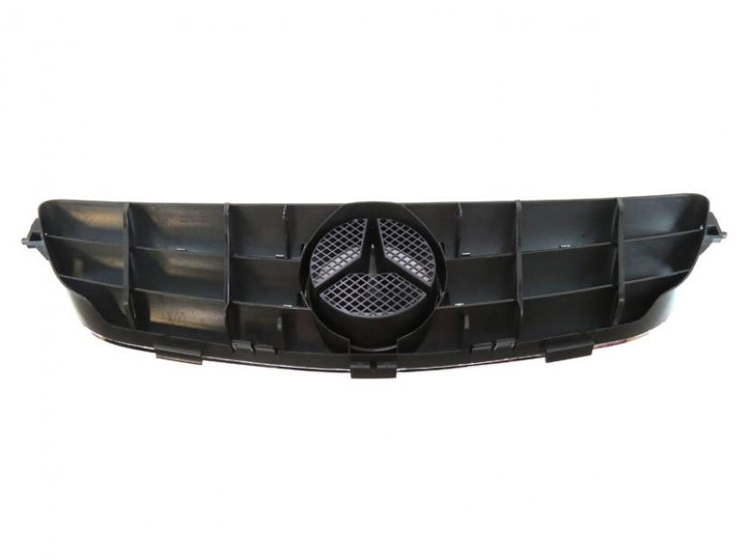 Хром/черна решетка за Mercedes CLK C209 2002-2009 3