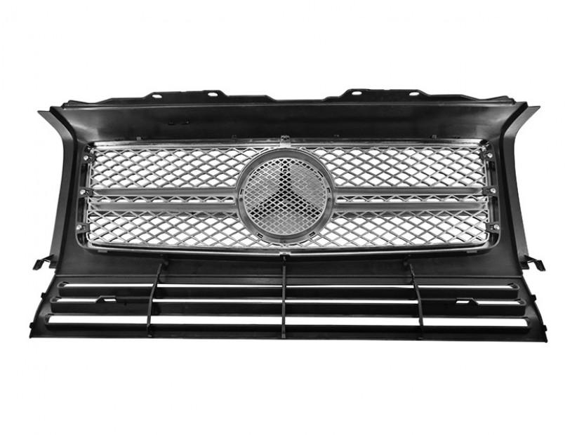 Хром/черна решетка тип AMG за Mercedes W463 1989 => 2