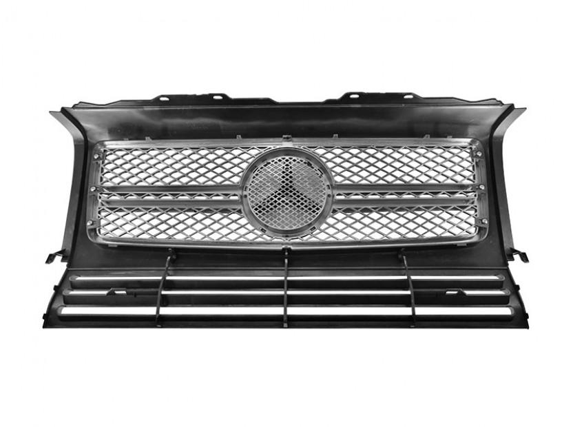 Хром/сива решетка тип AMG за Mercedes G класа W463 1989 => 2
