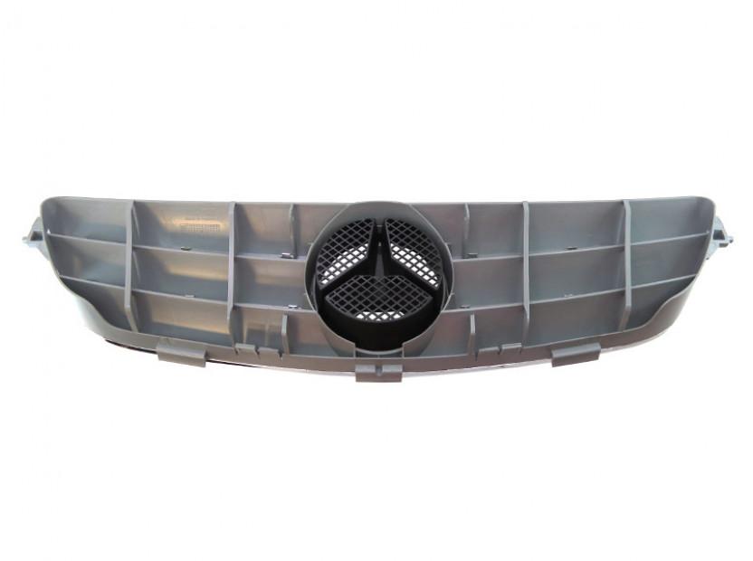 Хром/сива решетка за Mercedes CLK класа C209 2002-2009 3