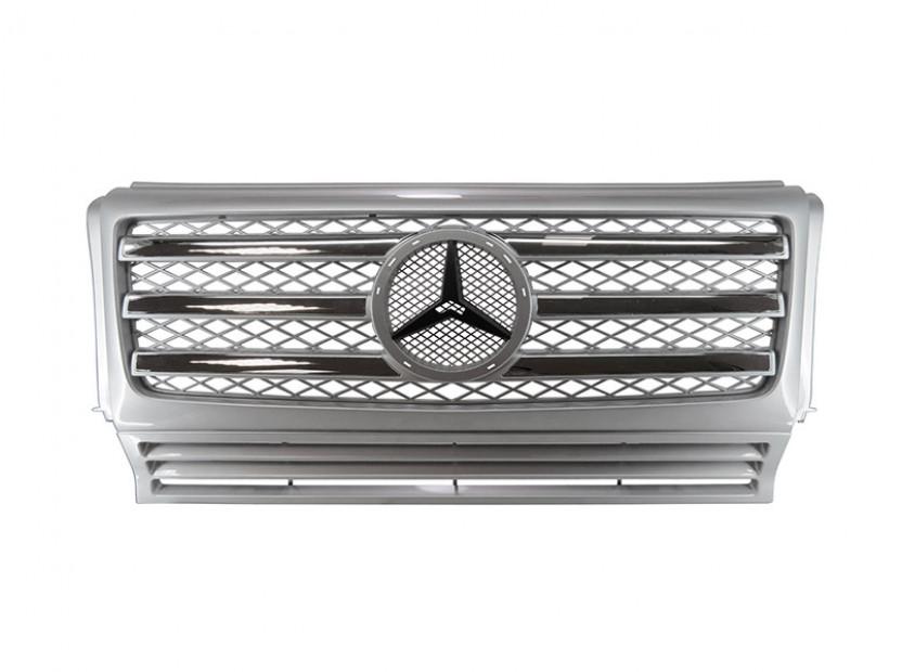Хром/сива решетка тип AMG за Mercedes W463 1989 =>