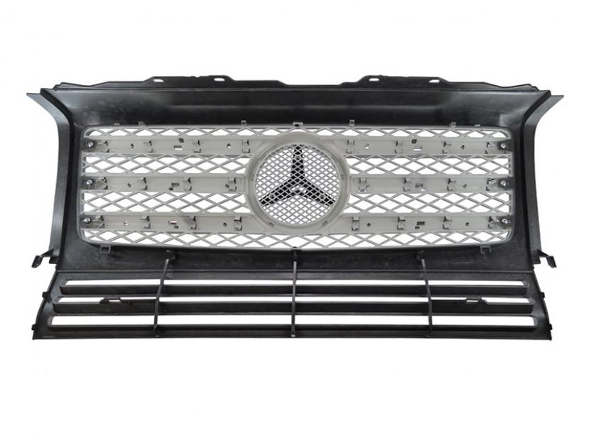 Хром/сива решетка тип AMG за Mercedes W463 1989 => 2