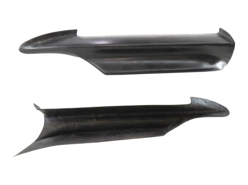 GT сплитери тип M Performance за предна M technik броня за BMW серия 3 E90 2005-2008 2
