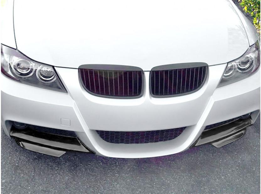 GT сплитери тип M Performance за предна M technik броня за BMW серия 3 E90 2005-2008 3