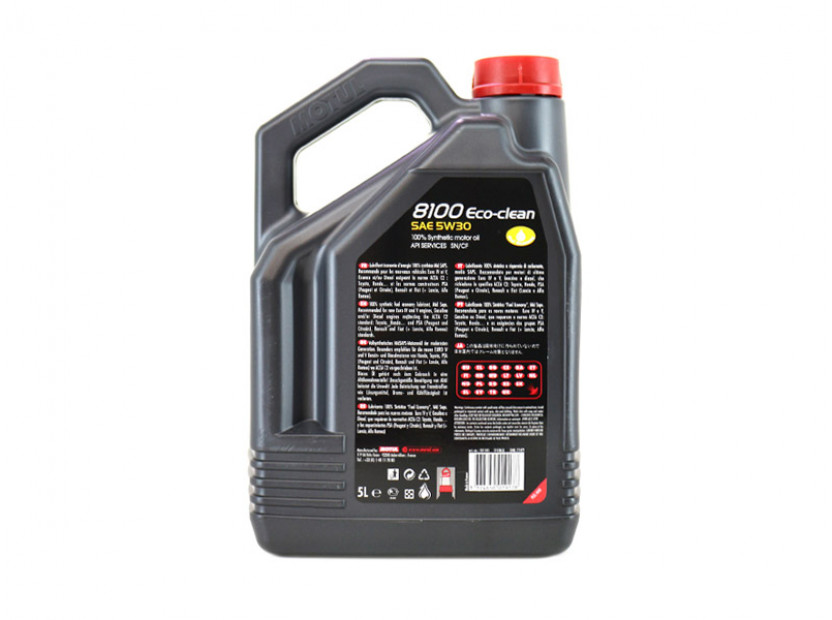 MOTUL 8100 ECO-CLEAN 5W30 5L 2