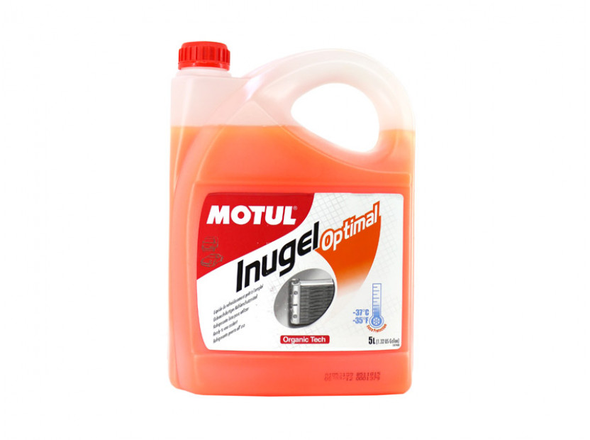 Антифриз MOTUL INUGEL OPTIMAL -37°C 5L