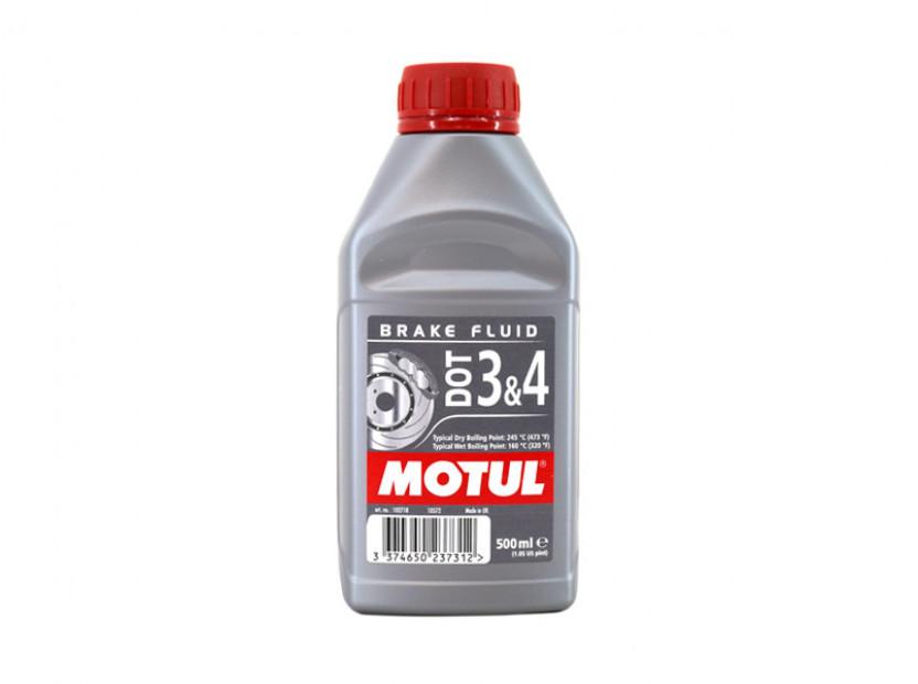 Спирачна течност MOTUL DOT 3 & 4 0.500L