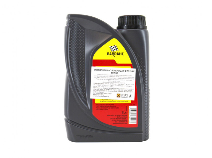 Bardahl XTC 15W40 1 литър 2