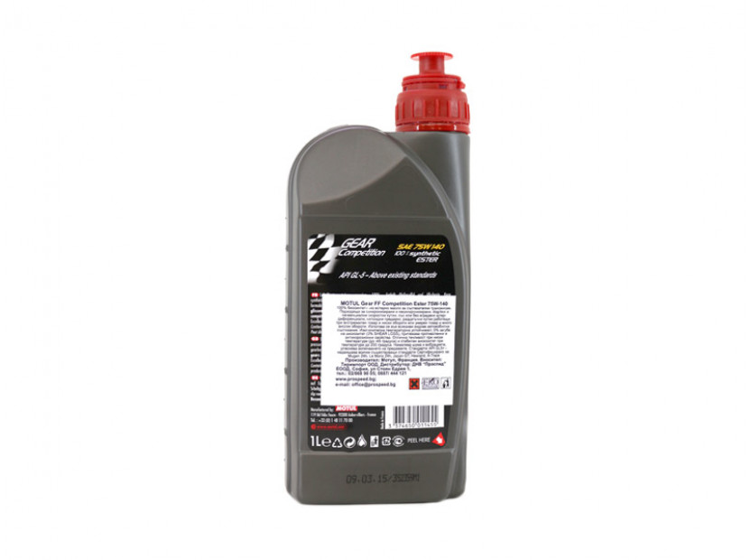 MOTUL GEAR COMPETITION 75W140 1L 2
