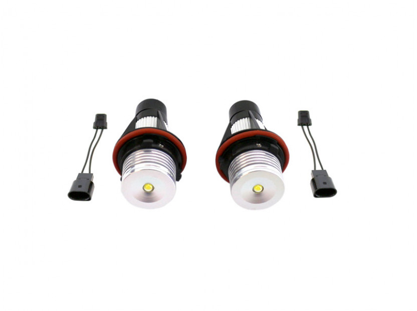 Бели LED лампи autopro за фабрични ангелски очи 6W