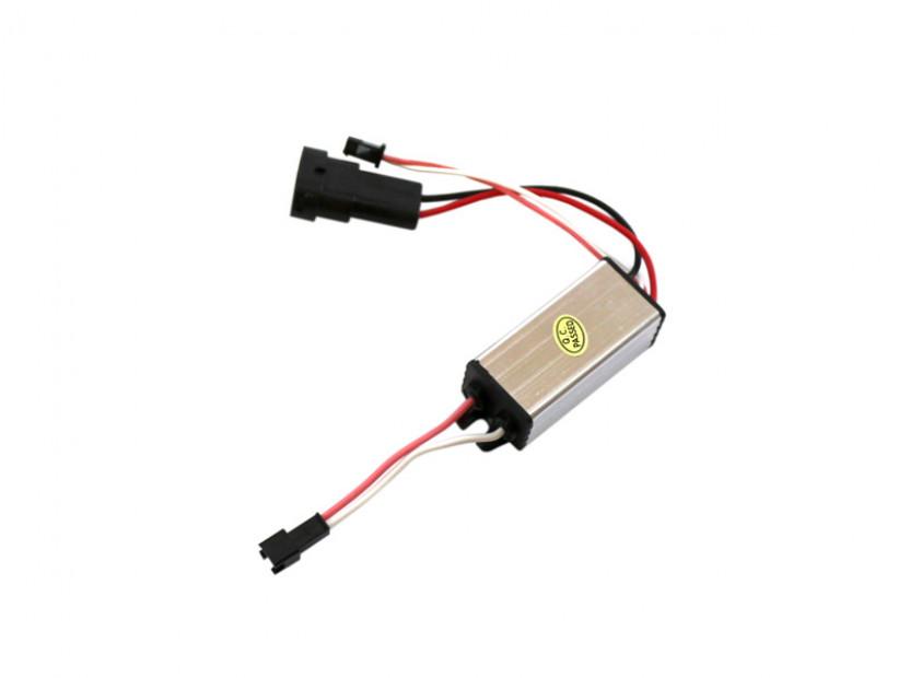 Червени LED лампи autopro за фабрични ангелски очи H8 20W CREE 3