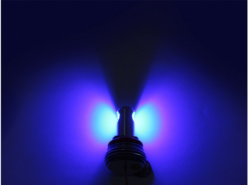Сини LED лампи autopro за фабрични ангелски очи H8 20W CREE 6