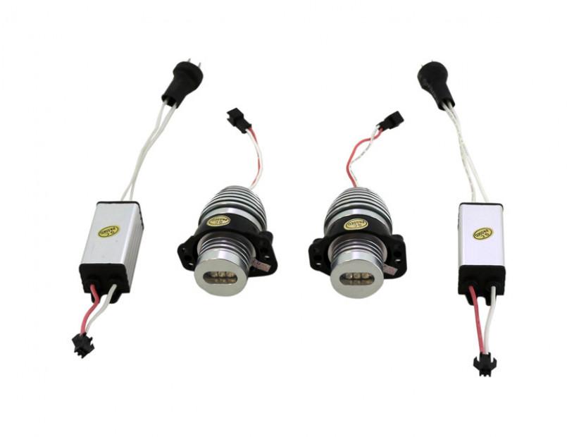 Червени LED лампи autopro за фабрични ангелски очи за BMW серия 3 E90/E91 2005-2008 20W CREE