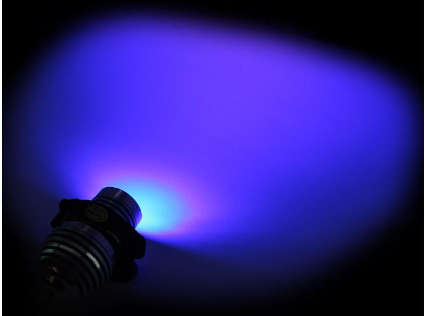 Сини LED лампи autopro за фабрични ангелски очи за BMW серия 3 E90/E91 2005-2008 20W CREE 4