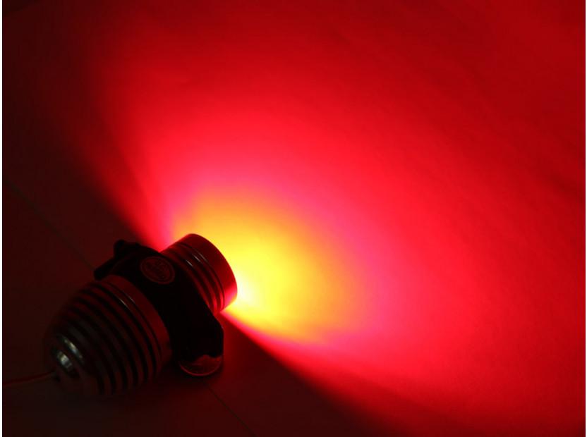 Червени LED лампи autopro за фабрични ангелски очи за BMW серия 3 E90/E91 2005-2008 20W CREE 4