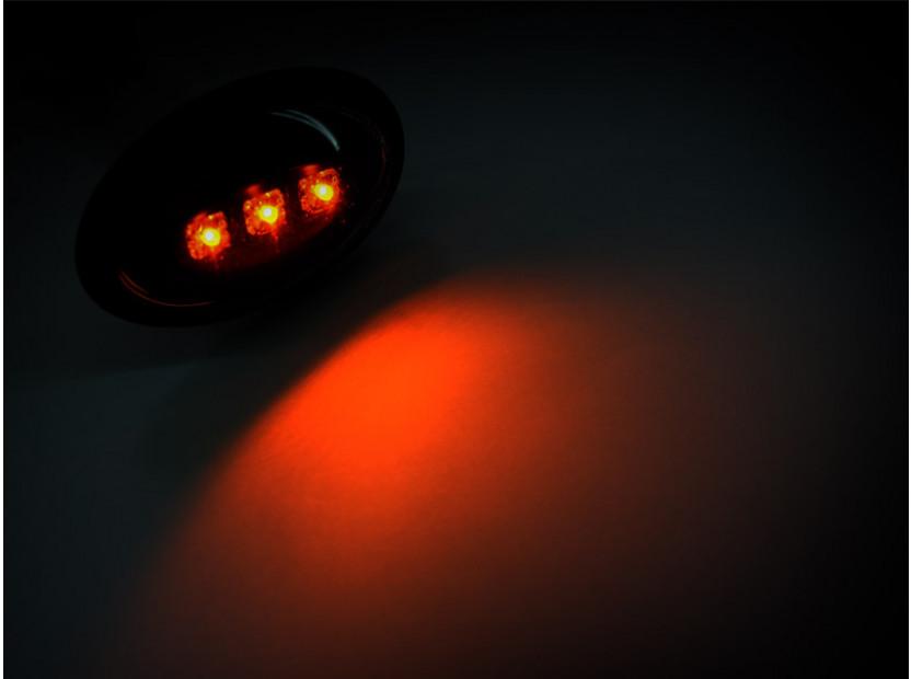 Тунинг LED странични мигачи за MINI 2001-2006 с черна основа 4