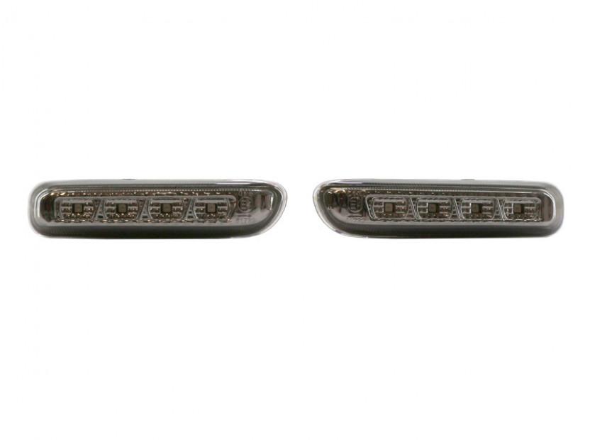Тунинг LED странични мигачи за BMW серия 3 E46 1998-2001 седан опушен