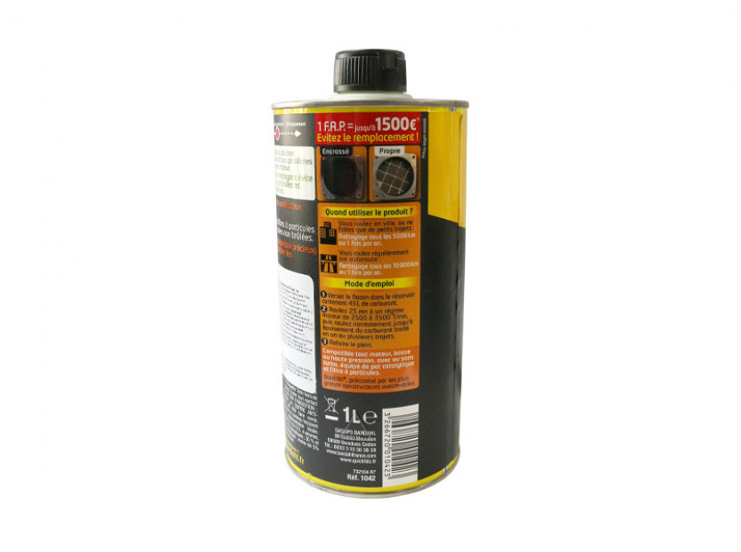 Bardahl - Particulate filter cleaner - Почистване на филтър за твърди частици 2