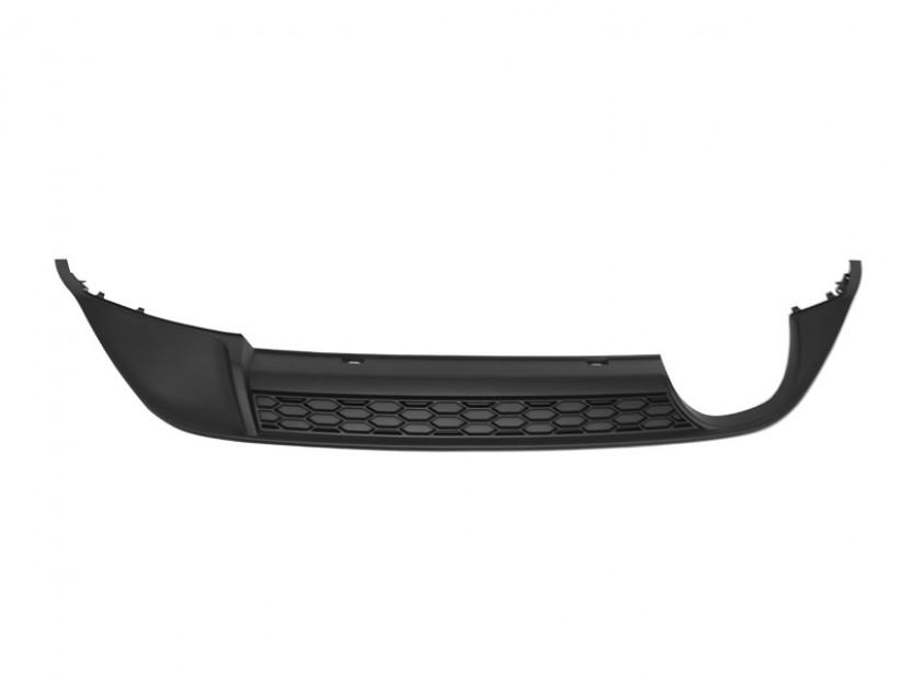 Дифузьор тип GTi за задна броня VW Golf VII 2014 => без PDC/единичен дифузьор/двоен накрайник -oo---- 3