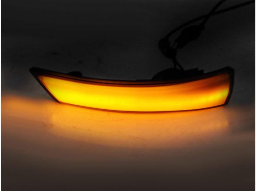 Тунинг LED мигачи за странични огледала на Ford Focus MK2 2007-2010, Focus MK3 2011-2018/ МОНДЕО МК4 2010-2014 3