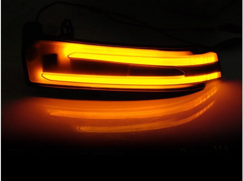 Тунинг LED мигачи за странични огледала на Mercedes C класа W204/C204, E класа W212/C207, A класа W176, B класа W246, CL W216, CLS C218, GLK X204, S класа W221 3