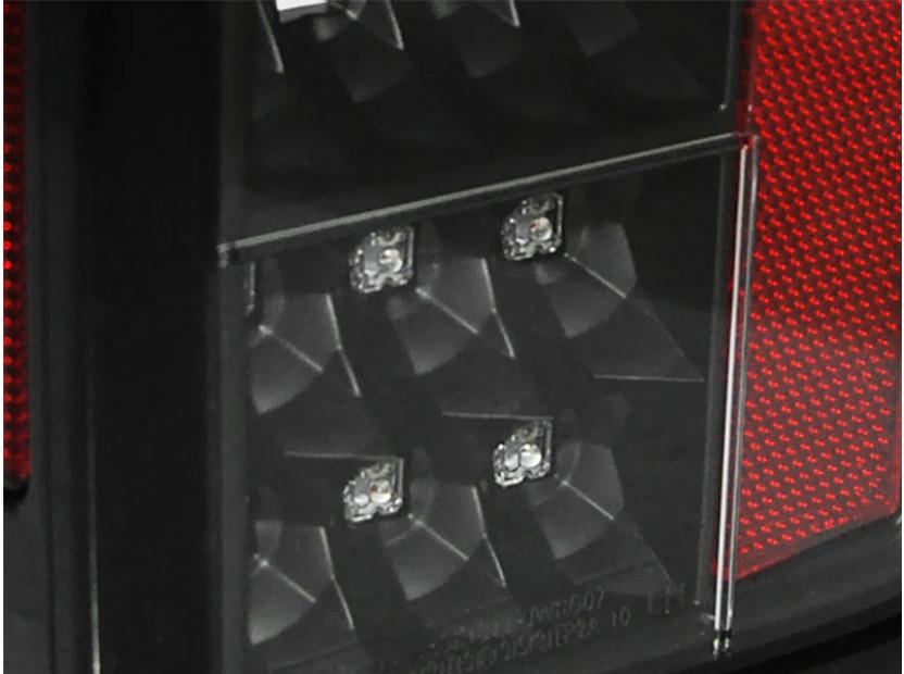Комплект LED стопове за Jeep Wrangler JK 2007-2018, опушена основа, ляв и десен 3