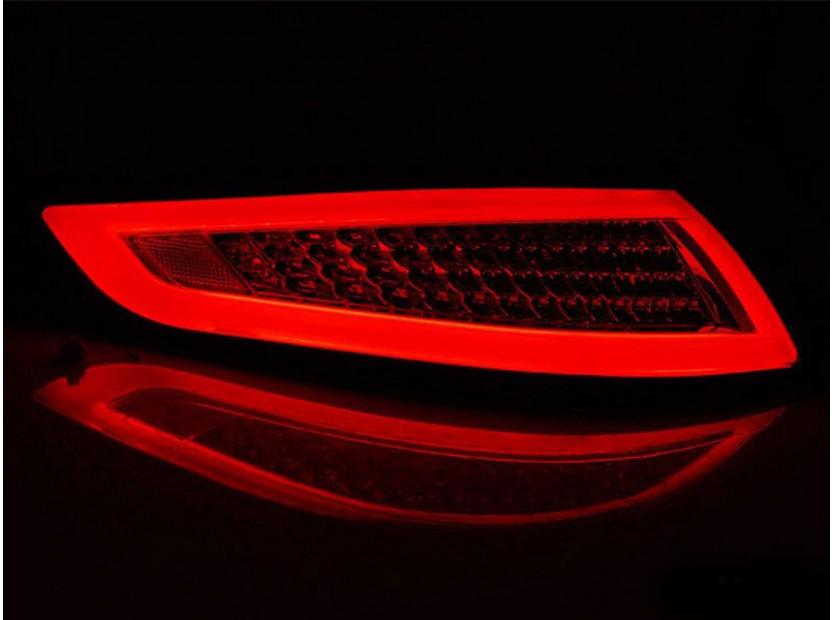 Комплект LED стопове за Porsche 911 997 2004-2009, червено опушена основа, ляв и десен 4