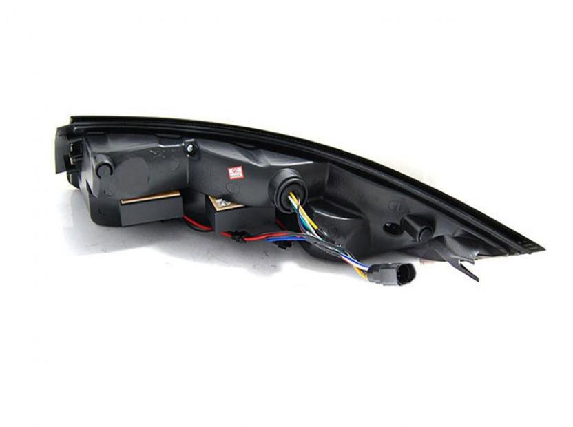 Комплект LED стопове за Porsche 911 997 2004-2009, червена и бяла основа, ляв и десен 2