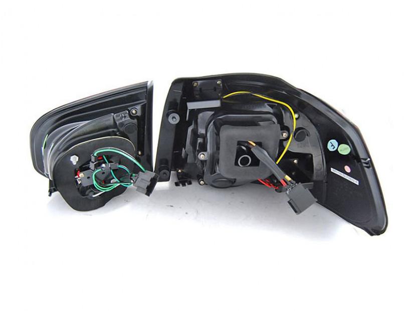 Комплект LED стопове за VW Golf 6 2008-2012, опушена основа, ляв и десен 2