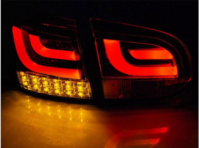 Комплект LED стопове за VW Golf 6 2008-2012, бяло опушена основа, ляв и десен 4