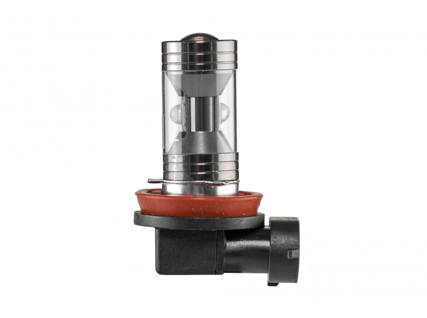 LED лампа AutoPro H11 CREE, студено бяла, 12V, PGJ19-2, 1 брой