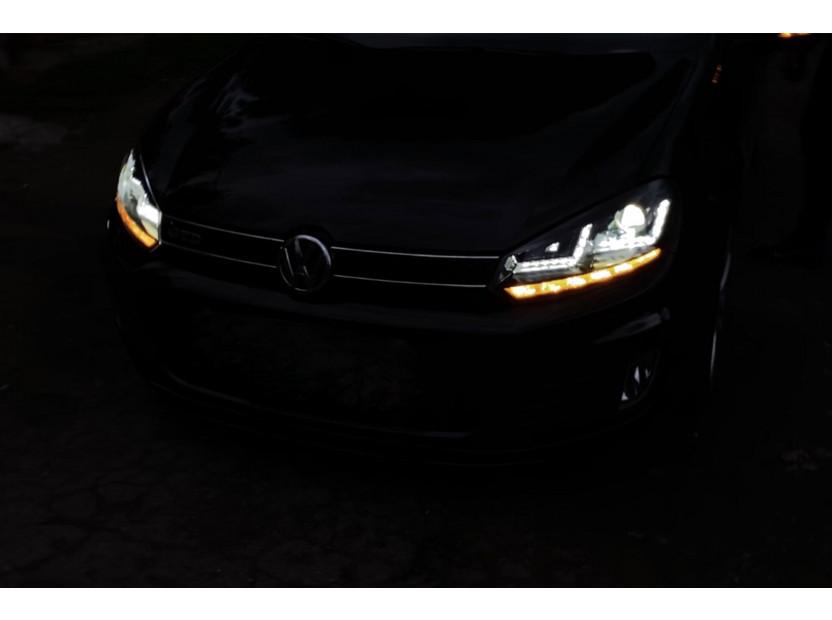 Комплект ксенонови фарове Osram LEDriving Xenarc Black Edition за VW Golf VI 2008-2013 , ляв и десен 7