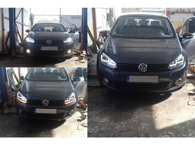 Комплект ксенонови фарове Osram LEDriving Xenarc Chrome Edition за VW Golf VI 2008-2013 , ляв и десен 6