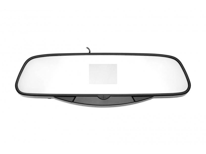 Парктроник система с VFD дисплей тип огледало за обратно виждане с 4 черни датчика 7