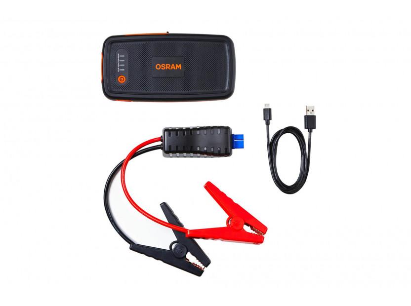Външна батерия Osram Batterystart 200 за стартиране на двигателя, 6000mAh, 12V, 150-500A 2