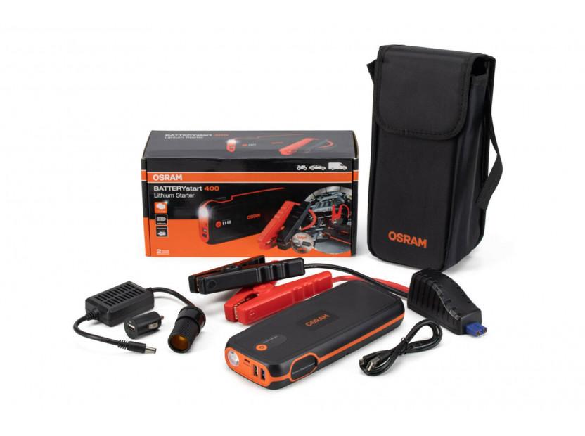 Външна батерия Osram Batterystart 400 за стартиране на двигателя, 16800mAh, 12V, 400-2000A 2