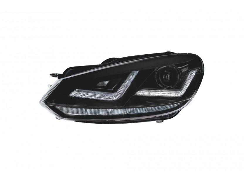 Комплект ксенонови фарове Osram LEDriving Xenarc Black Edition за VW Golf VI 2008-2013 , ляв и десен