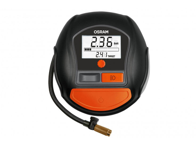 Дигитален компресор Osram модел 1000 за гуми 12V, 15A, 5.5bar 2