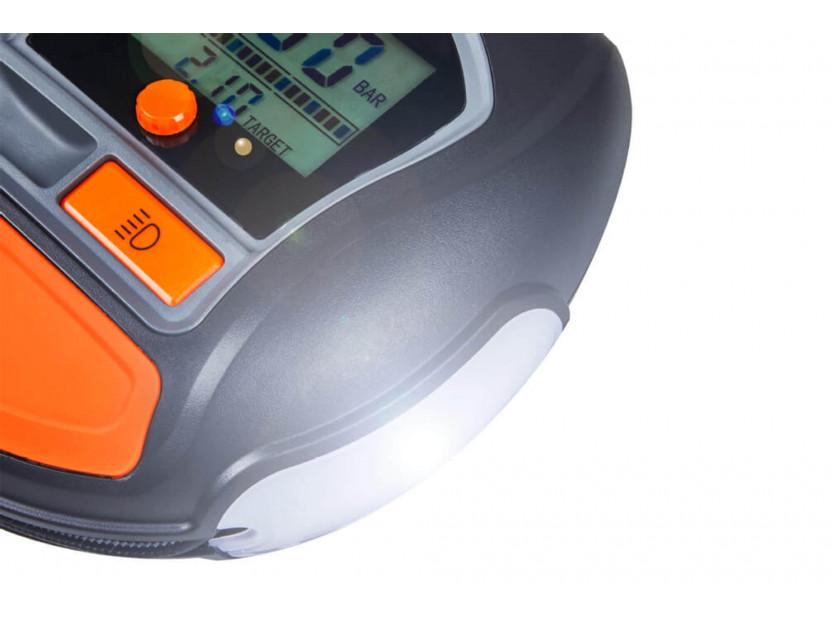 Дигитален компресор Osram модел 1000 за гуми 12V, 15A, 5.5bar 7