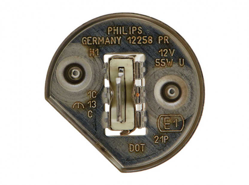Халогенна крушка Philips H1 Vision 12V, 55W, P14.5S, 1 брой 3