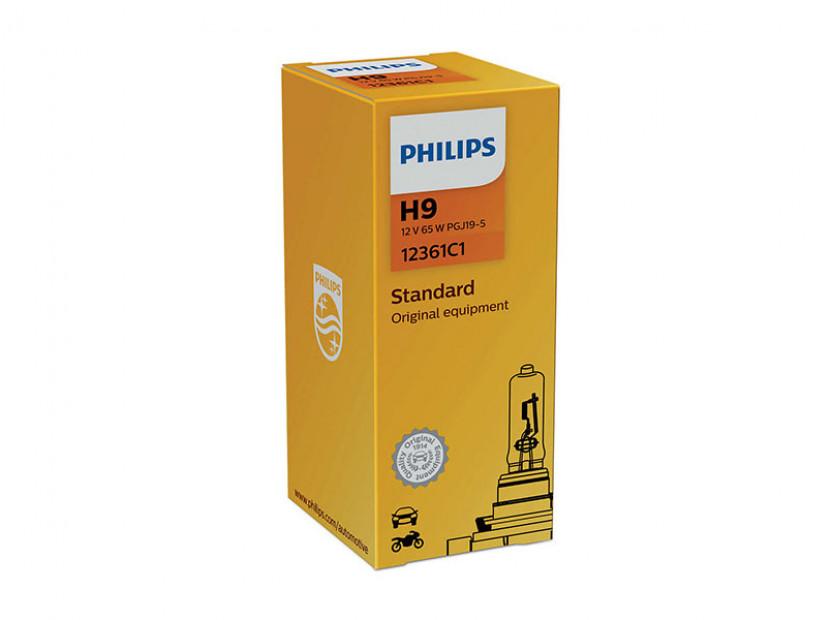 Халогенна крушка Philips H9 Vision 12V, 65W, PGJ19-5, 1 брой