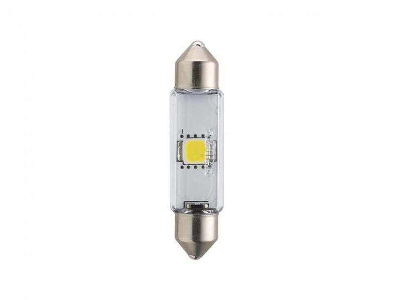 LED лампа Philips тип C5W X-treme Vision 43mm, топло бяла, 4000K, 12V, 1W, SV8.5, 1 брой 3